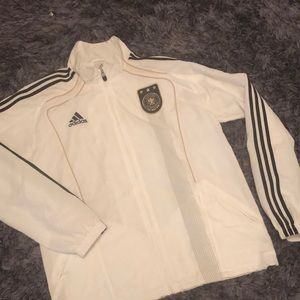Adidas Deutscher Fussball-Bund jacket.Like new!